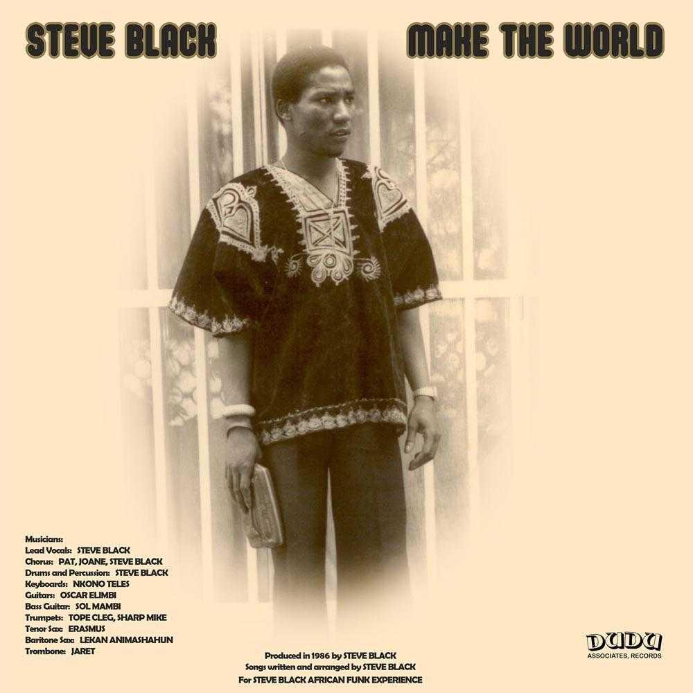 Steve Black - Make The World (Vinyl, CD, download) | AFROBEAT, DISCO