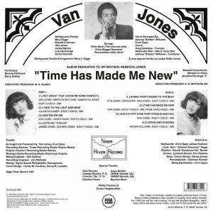 Van Jones Time Has Made Me New LP CD