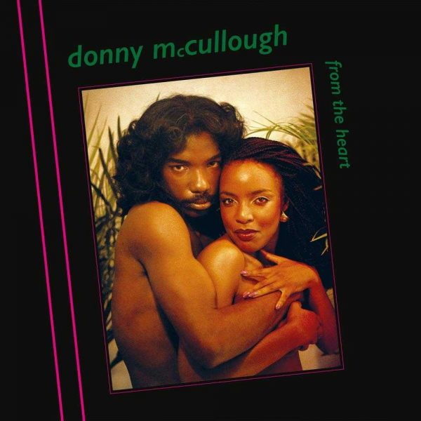 Donny McCullough - From The Heart LP CD front cover
