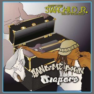Starchild Jr. (Funkadelic) - Hand Me Down Diapers LP CD front cover