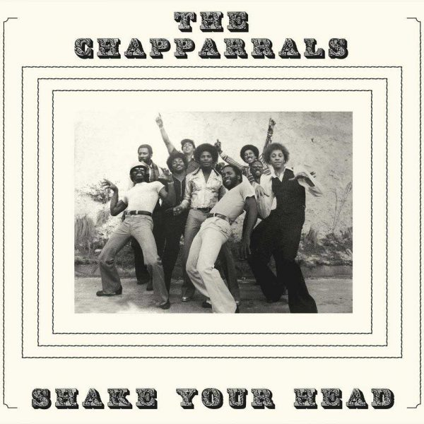 The Chapparrals Shake Your Head front cover LP CD