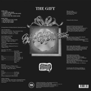 Gift Of Dreams - The Gift back cover LP CD
