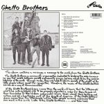 The Ghetto Brothers Power-Fuerza LP CD