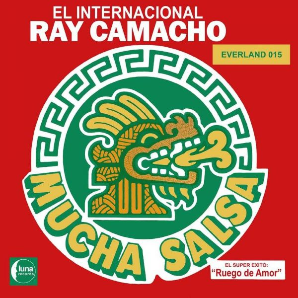 El Internacional Ray Camacho - Mucha Salsa LP CD front cover