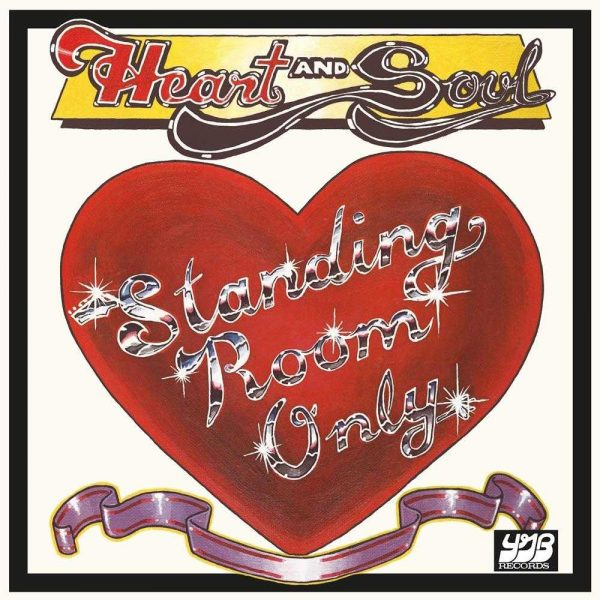 Standing Room Only Heart And Soul front cover LP CD