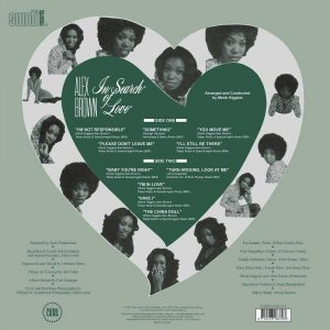 Alex Brown - In Search Of Love LP CD back cover