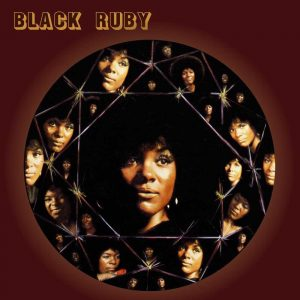 Ruby Andrews Black Ruby LP CD front cover