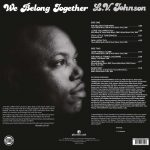 L.V. Johnson – We Belong Together LP CD