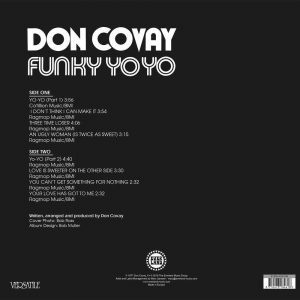 Don Covay - Funky Yo-Yo LP CD back cover