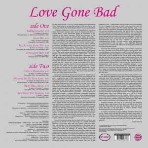 Mavis Staples Love Gone Bad LP CD back cover