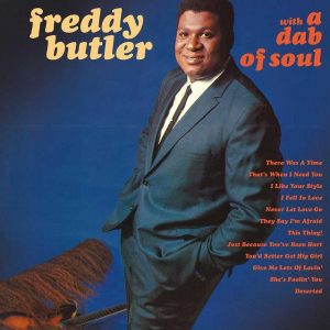 Freddy Butler - With A Dab Of Soul LP CD front cover