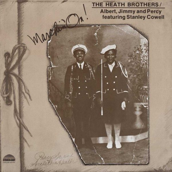 The Heath Brothers Marching On front cover vinyl CD
