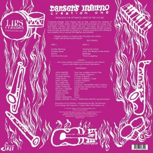Danser's Inferno - Creation One LP CD back cover