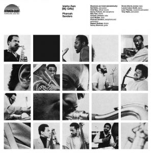 Pharoah Sanders Izipho Zam LP CD front cover