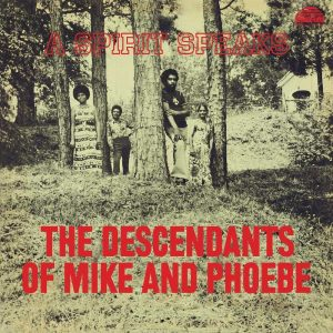 The Descendants Of Mike And Phoebe A Spirit Speaks front cover LP CD