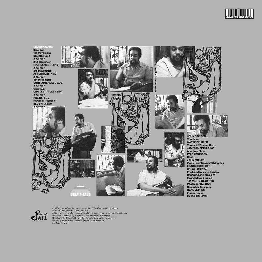 John Gordon - Erotica Suite (Vinyl, CD, download)   JAZZ   Everland Music