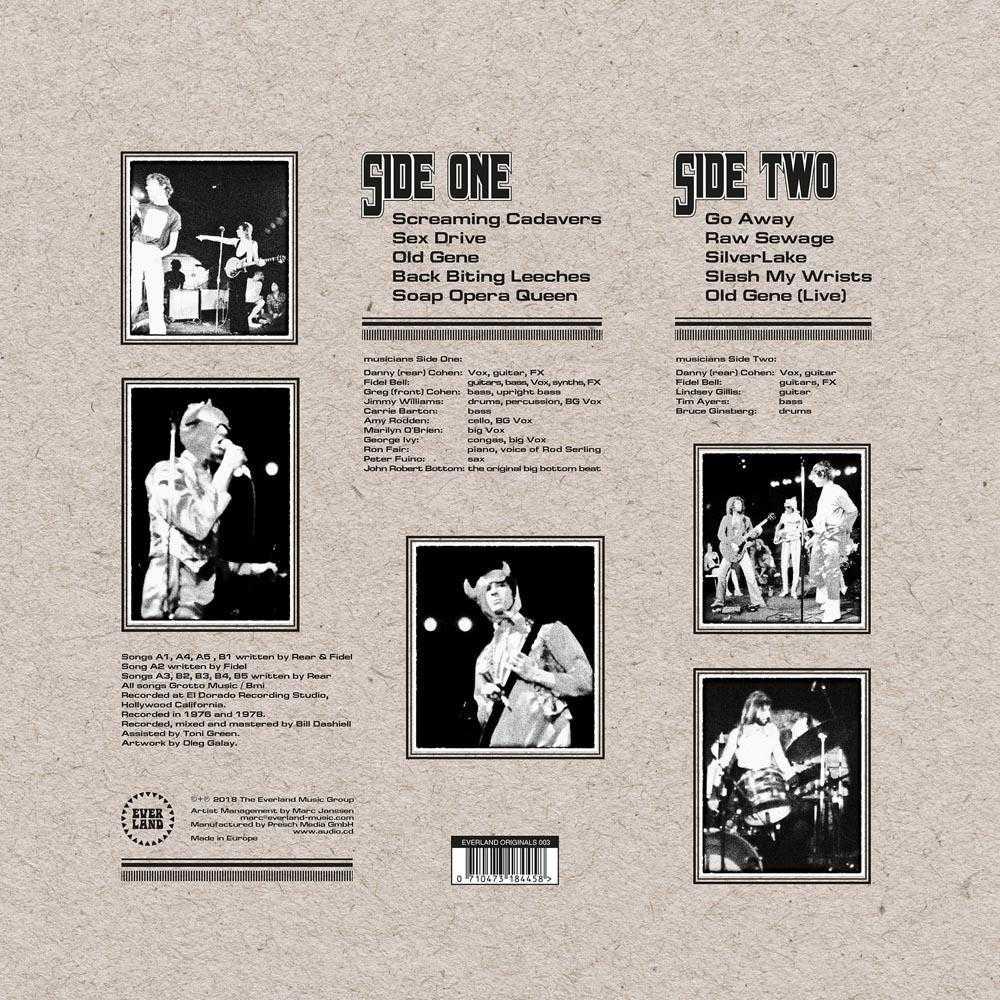 Charleston Grotto - Raw Sewage (Vinyl, CD, download) | Everland Music