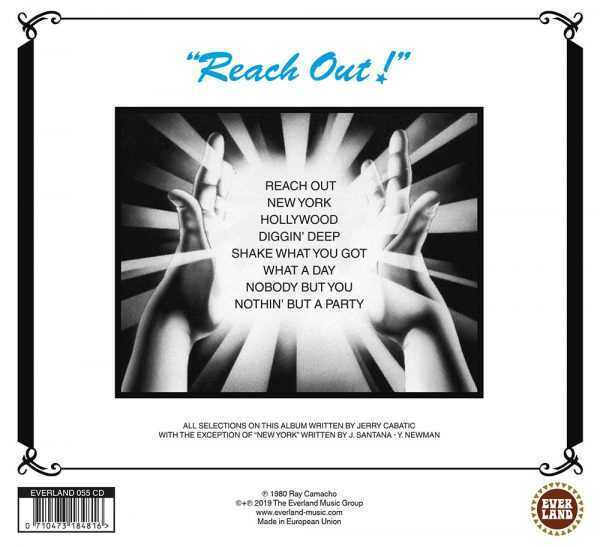 Record Sleeve Everland055_The-Ray-Camacho-Band_Reach-Out
