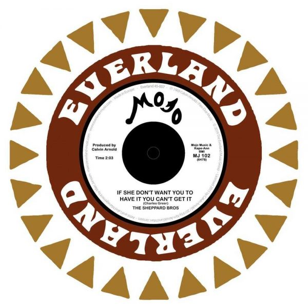 """The Sheppard Bros. If She Don't Want You To Have It You Can't Get It Mr. Fool vinyl 7"""" single"""