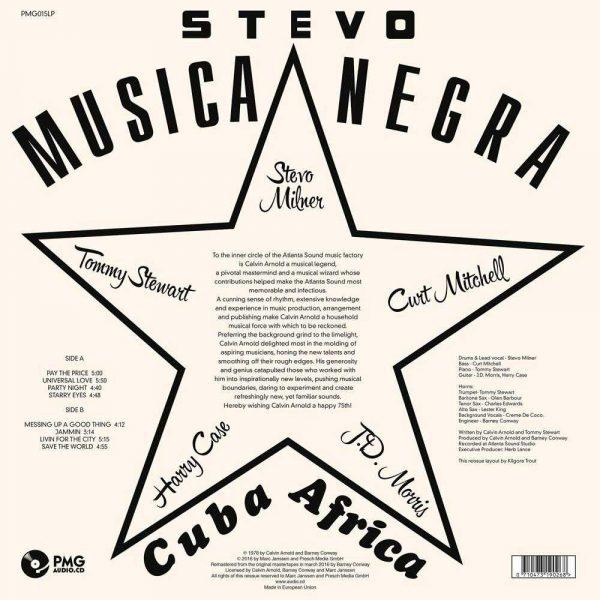 Stevo - Musica Negra