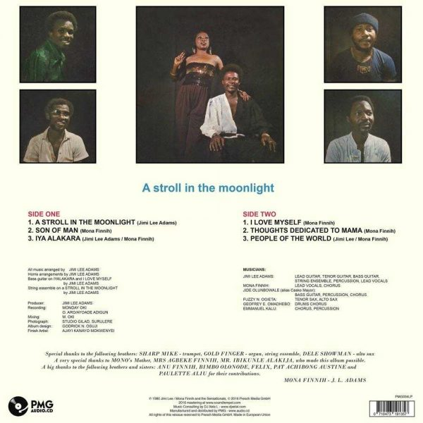 Jimi Lee / Mona Finnih & The Sensationals - A Stroll In The Moonlight
