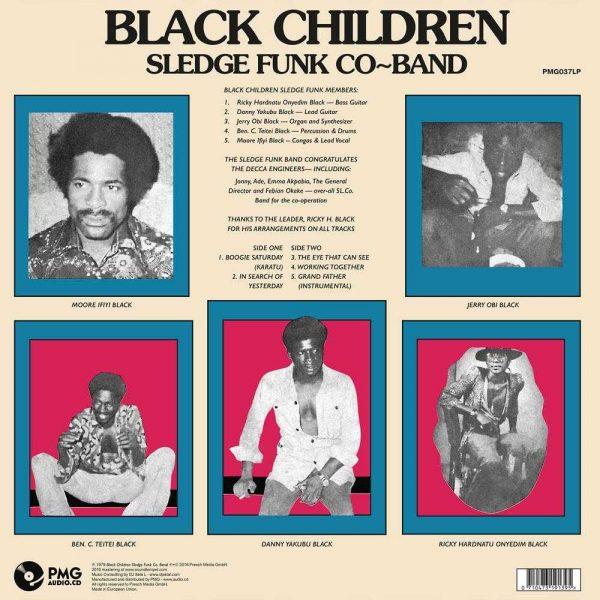 Black Children Sledge Funk Co. Band - Vol. 3: Aviation Grand Father