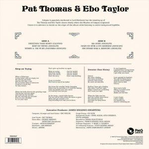 "Pat Thomas & Ebo Taylor - Sweeter Than Honey, Calypso ""Mahuno"" And High Lifes Celebration"