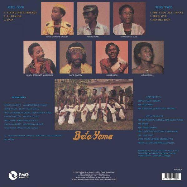 The Beta Yama Group - Free Love