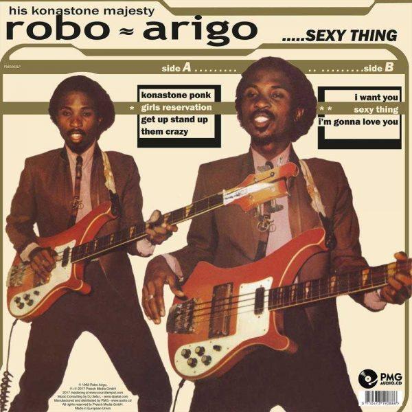Robo Arigo & His Konastone Majesty - Sexy Thing
