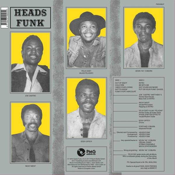 Heads Funk - Cold Fire