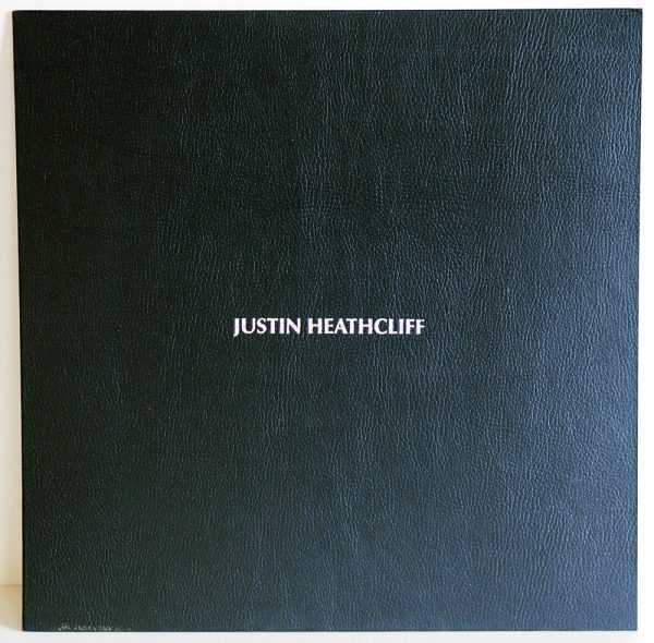 Front sleeve JUSTIN HEATHCLIFF – special edition LP
